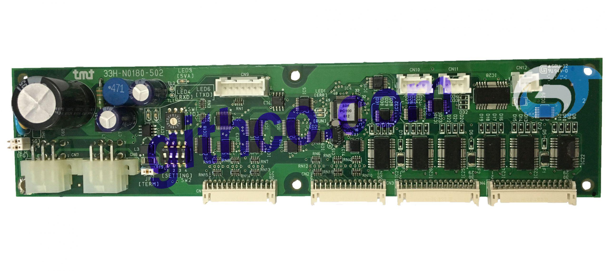 Mạch điện tử dùng trong máy dệt TMT Nhật Bản 33H-0180-502