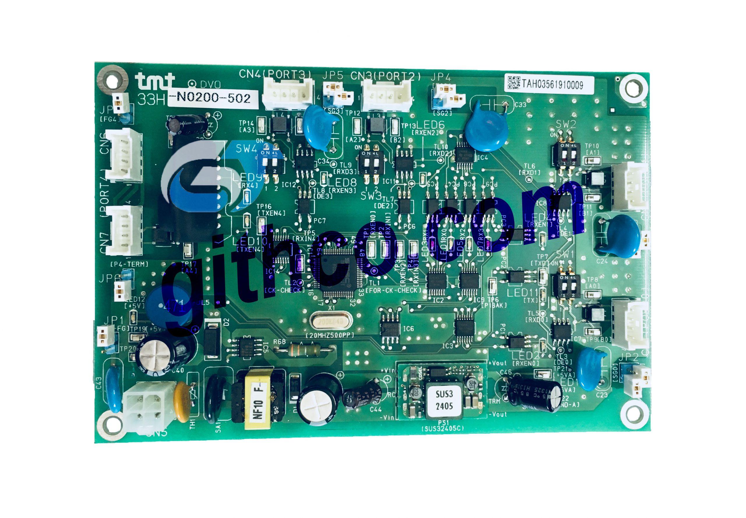 Bo mạch máy dệt TMT Nhật Bản 33H-N0200-502